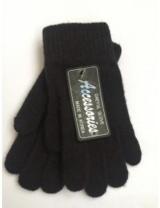 Перчатки зимние коричневого цвета Дэни